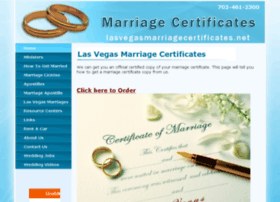 lasvegasmarriagecertificates.net