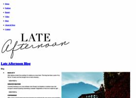 lateafternoonblog.com