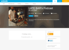 latebar.podomatic.com
