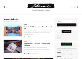 lateinwiki.org