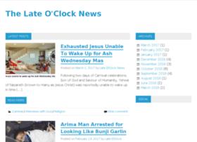 lateoclocknews.com