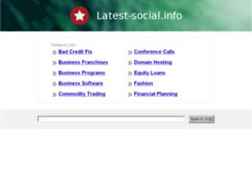 latest-social.info