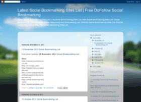 latestsocialbookmarkingsitelist.blogspot.in