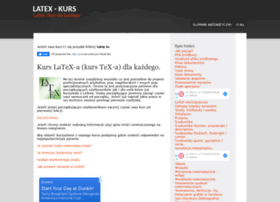 latex-kurs.x25.pl