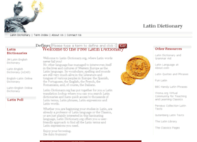 latin-dictionary.org