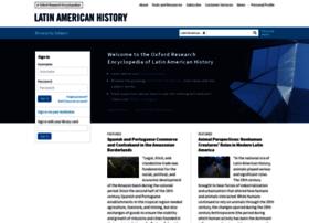 latinamericanhistory.oxfordre.com