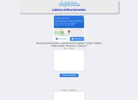 latinicacirilica.com