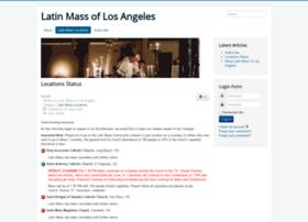 latinmass-la.org