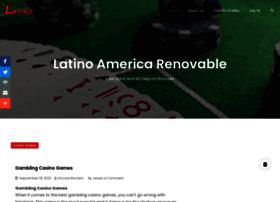 latinoamericarenovable.com