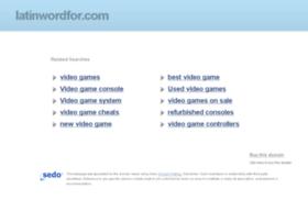 latinwordfor.com