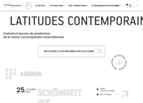 latitudescontemporaines.com