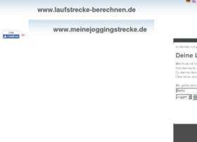laufstrecke-berechnen.de