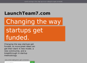 launchteam7.com