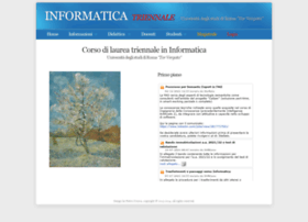 laureamagistraleinformatica.uniroma2.it