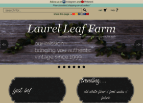 laurelleaffarm.com