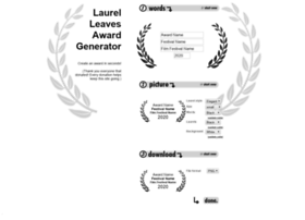 laurelleavesawardmaker.com