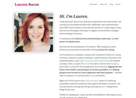laurenbacon.com