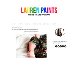 laurenpaints.com