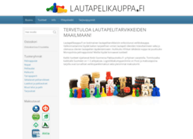 lautapelikauppa.fi