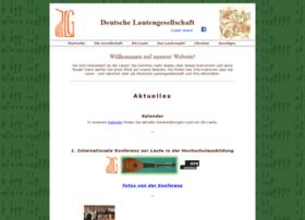 lautengesellschaft.de