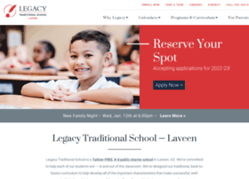 laveen.legacytraditional.org