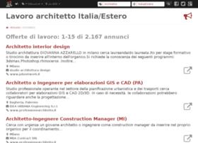 lavoroarchitetto.com