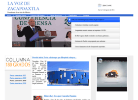 lavozdezacapoaxtla.info