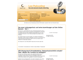 law-podcasting.de