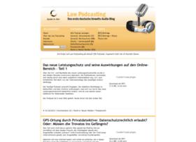 law-podcasting.de