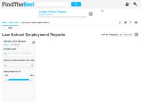 law-school-employment.findthebest.com