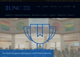 law.unc.edu
