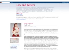 lawandletters.blogspot.com