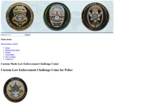 lawenforcementchallengecoins.com