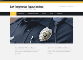 lawenforcementsurvivalinstitute.org