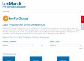 lawforchange.org