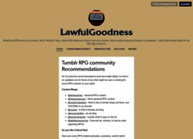 lawfulgoodness.tumblr.com