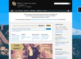 lawlibrary.colorado.edu