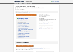 lawn-care.promatcher.com