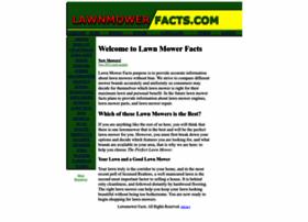 lawnmowerfacts.com