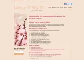 lawofintegrity.com