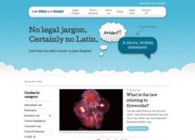 lawplainandsimple.com