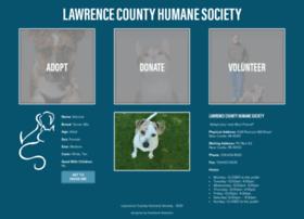 lawrencecountyhumane.com