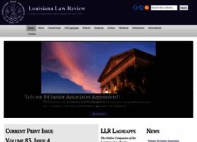 lawreview.law.lsu.edu