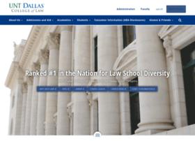 lawschool.untsystem.edu