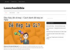 lawschoolbible.com