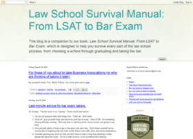 lawschoolsurvivalmanual.blogspot.com