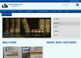 lawsociety.org.bw