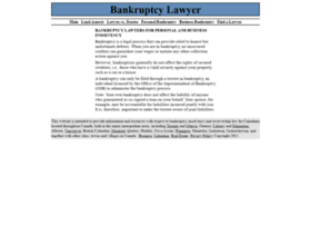 lawyerbankruptcy.ca