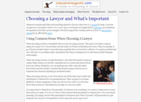 lawyersinaugusta.com
