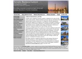 lawyertorontobusiness.com